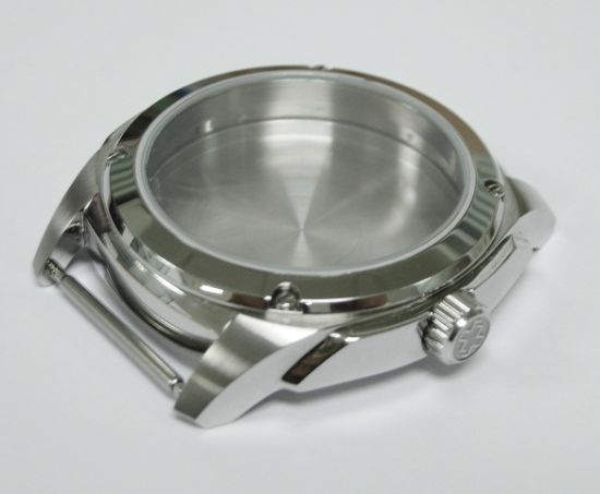 CNC Turning Machining High Polished Stainless Steel Watch Case for Mens Water Resistance pictures & photos