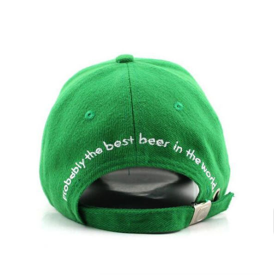 Custom Logo Baseball Cap Sprots Brushed Cotton Twill Cap for Carlsberg pictures & photos