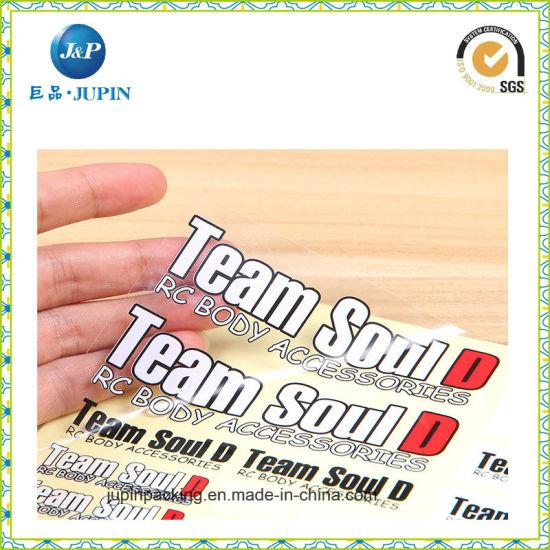 China Wholesales Customized Logo Printed Die Cut Vinyl Sticker