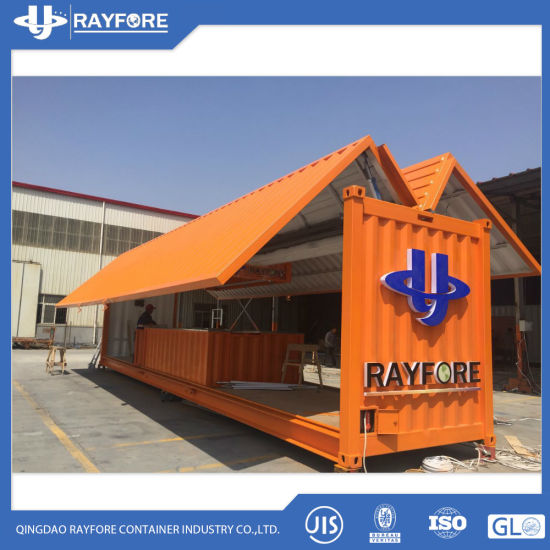 Flying Side Open Container 10FT 20FT Bar Container Wholesale Container pictures & photos
