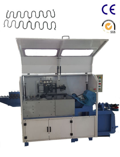 Automatic Mechanical Wire S Zig Zag Spring Forming Machine