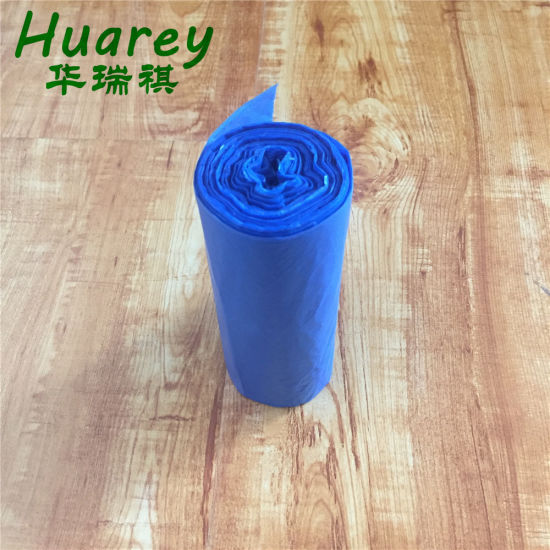 Wholesale HDPE/LDPE Plastic Colored Garbage Trash Bags