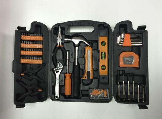 China Supplier Wholesale 148PCS Hard Plastic Tool Case Hand Tool Kit