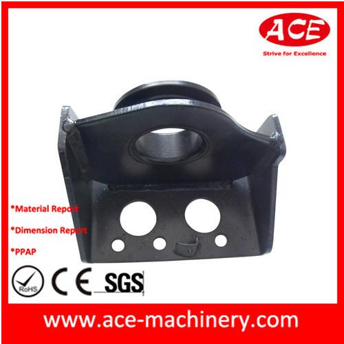 China Supplier Hardware Metal Stamping Parts with Black Powder Coating
