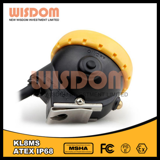 Atex Explosion Proof LED Miner Lamp/Mining Cap Lamp Kl8ms pictures & photos