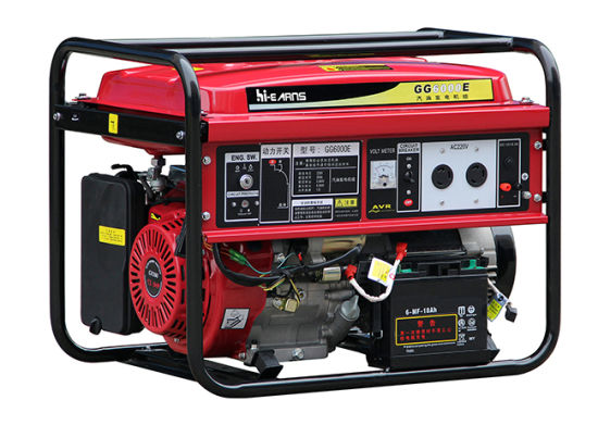 6kVA for Honda Engine Gasoline Generator Price (GG7000DX) pictures & photos