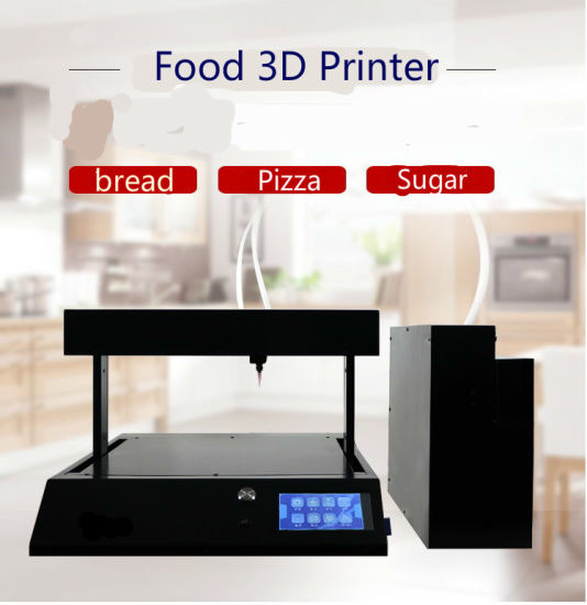 Green Edible Food Cake Bread Chocolate Coffee 3D Printer with Best Price pictures & photos