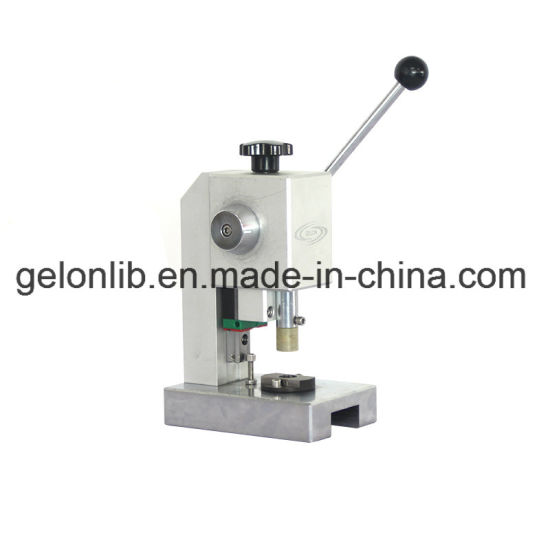 Coin Cells Disc Cutter Punching Machine for Battery Electrode and Separator Cutting pictures & photos