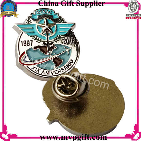 Brass/Copper Police Badge for Metal Pin Badge pictures & photos