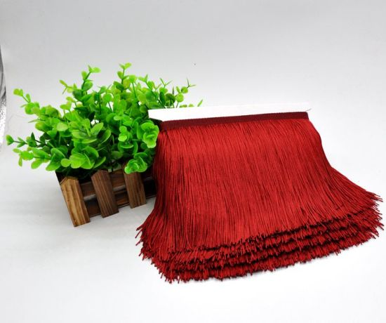 15cm High Quality More Colors Choice Polyester Fringe for Hometextile