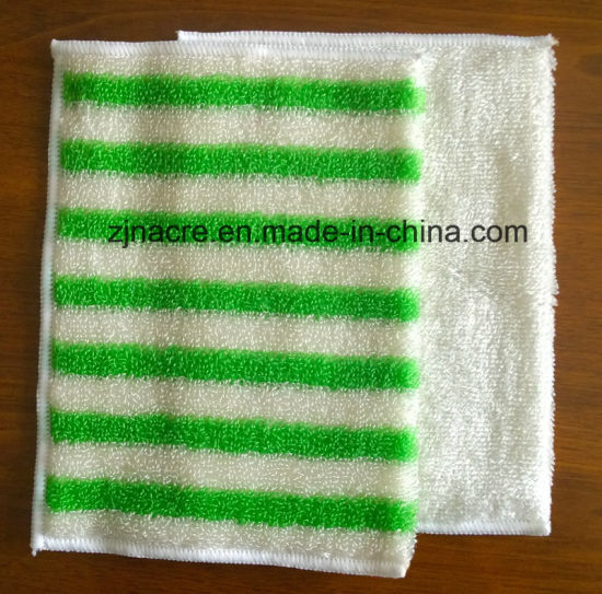 Microfiber Bamboo Kitchen Cleaning Wipes Towel pictures & photos