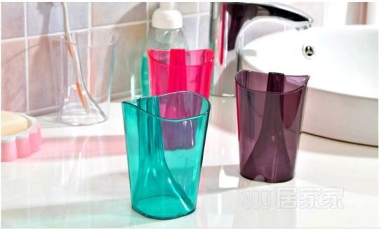 Plastic Toothbrush Cup (BR-HP-007) pictures & photos
