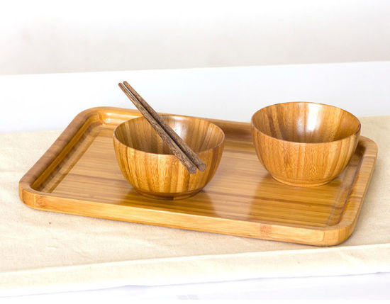 Wooden Tableware Eco-Friendly Baby Bowl Dinnerware Bowls pictures & photos