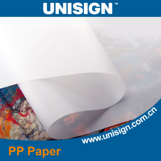 Self Adhesive Synthetic PP Paper pictures & photos
