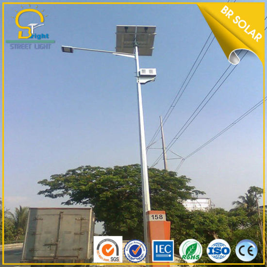 6-8m 30-60W Solar Light with Battery for Street