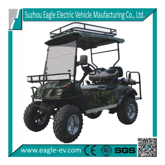Electric Golf Cart, with Rear Flip Flop Seat, 4 Seats, Madein China, Ce Certificate, Made in China, Eg2020asz