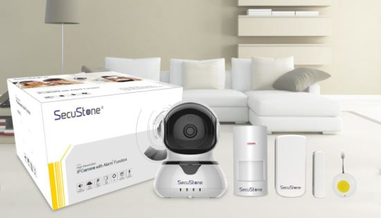WiFi HD IP Camera Smart Home Alarm System with Mobile Phone Application