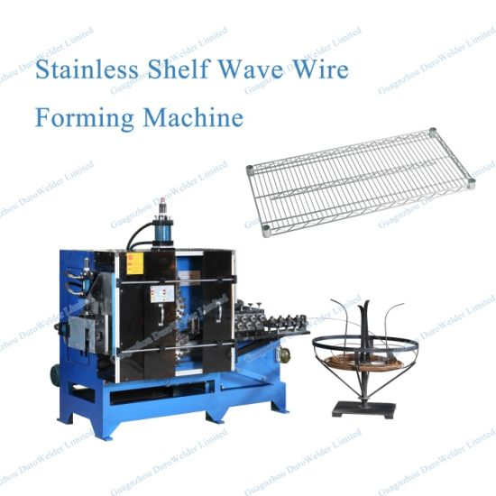 Hydraulic Type Steel Wire Wave Shape Forming Machine pictures & photos
