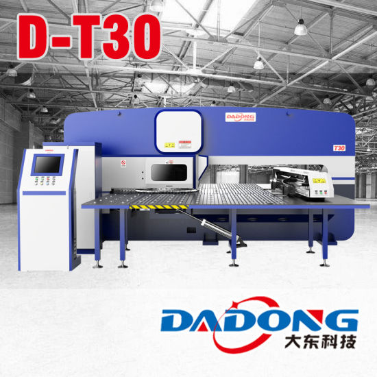 China Siemens/Fanuc Controller CNC Turret Punching Machine