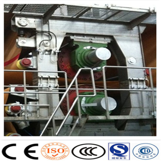 3200mm High Speed Fluting Corrugated Kraft Liner A4 Copy Printing Tissue Toilet Packing Paper Making Machine pictures & photos