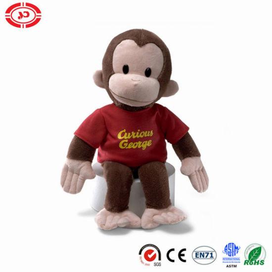 Gund Curious George Plush Sitting Animal Monkey Toy