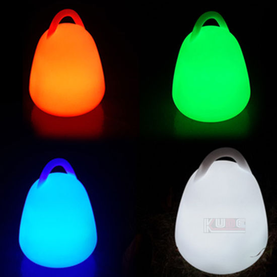 Colorful Christmas Gift Hand Lamp Color Changing LED Night Light pictures & photos