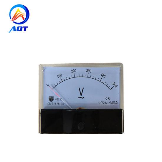 Generator Parts Digital Analog Voltage Meter AC 0-500V Voltmeter 69L13