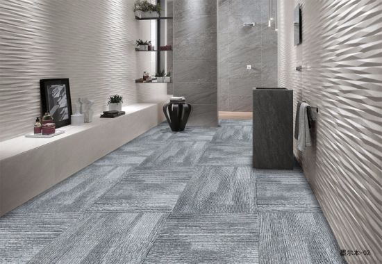 100% PP Commercial Office Usage Floor Carpet Tiles Modern ...