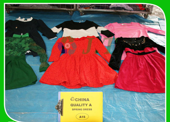 Selling Very Good for African Country Used Clothes Spring Wear