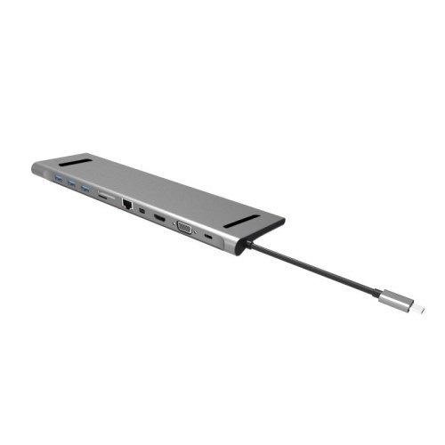 China USB C Hub, USB Hub 10 in 1 for Thunderbolt 3 Adapter