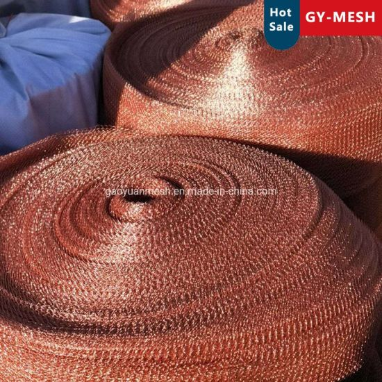 Corrugated Knitted Wire Mesh for Gas - Liquid Filtration