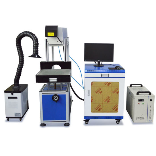 2019 Hot Selling CO2 Glass Tube Laser Marking Machine for Wood Leather