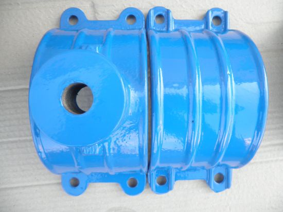 China Ductile Cast Iron Saddle Clamp for PVC PE Di Pipe