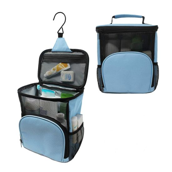 Waterproof Hanging Shower Bag Portable Caddy Toiletry