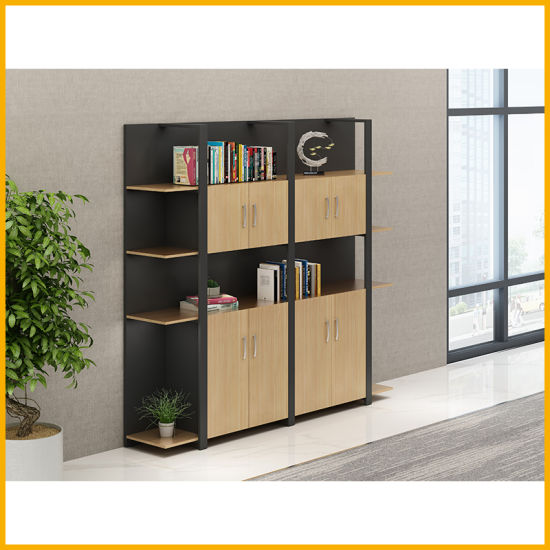 China Factory MFC Panel File Cabinet Office Furniture Wooden Office Filing Cabinet for File Storage pictures & photos