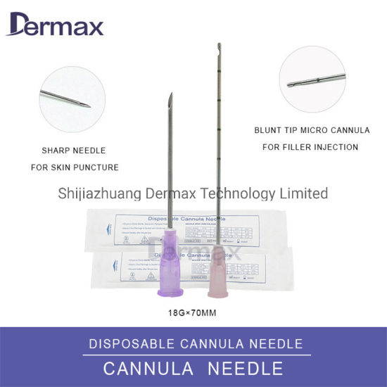 Needle Micro Cannula Blunt Tip for Beauty