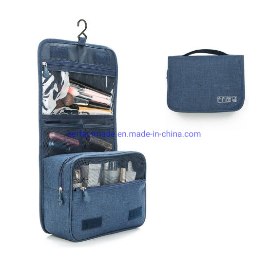 Hanging Travel Toiletry Shower Storage Cosmetic Bag for Women Men