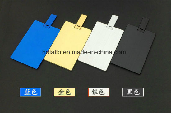 Aluminium Card USB Flash Drive Memory Card C762 pictures & photos