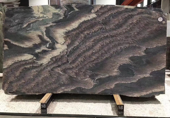 Natural Stone Kinawa Violet Landscape Purple Granite Slabs for Floor Wall pictures & photos