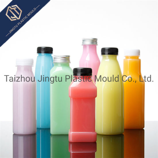 Plastic Gas Beverage Drink Pet Packaging Bottle with Screw Swing Cap