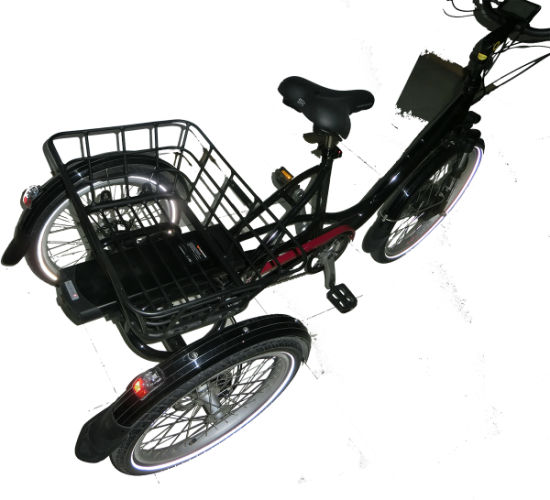 Poland Warehouse Stock Three Battery 3 Wheel Electric Motorcycle Scooter