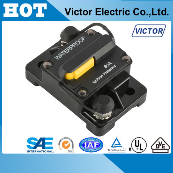 High AMP Circuit Breaker for Boat Car RV EV Truck with Manual Reset (E98 Series)