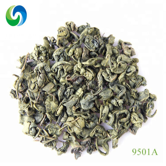 Hot Selling Big Leaves 9501 9502 China Green Tea Uzbekistan Afghanistan