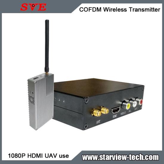 Cofdm HDMI Nlos Wireless Video Transmitter Uac