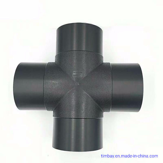 HDPE Polyethylene Butt Fusion Pipe Fittings with Equal Cross/Tee/Elbow