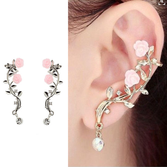 Rose Branch Earrings Alloy pictures & photos