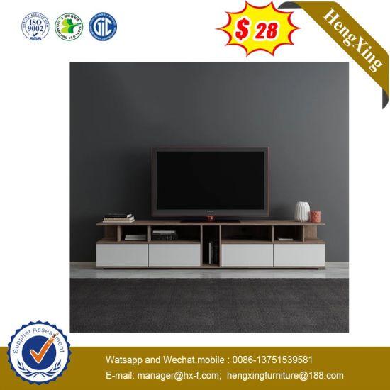 Modern Wooden Livingroom Home Furniture White Color TV Stand