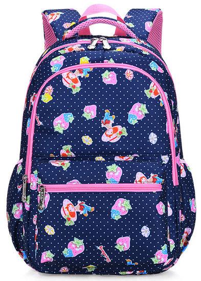 Fashion Girls′ Day Pack School Backpack Shoulder Bag