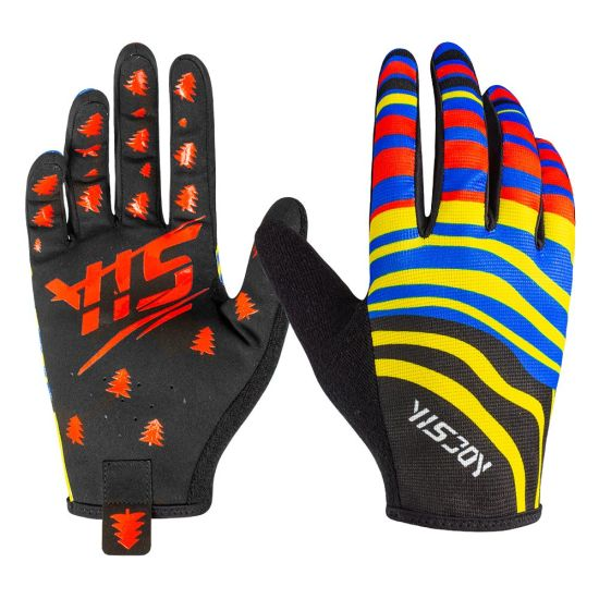 Custom Sublimation Design High Quality MTB BMX Mx Downhill Racing Sports Gloves Manufacturer