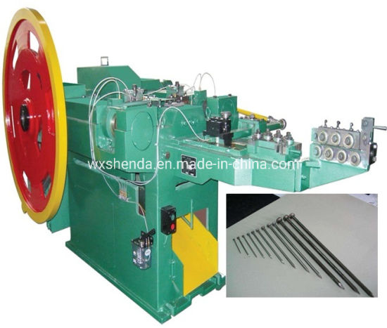 China Factory Durable Z94-4c Iron Wire Nails Machines Price - China ...